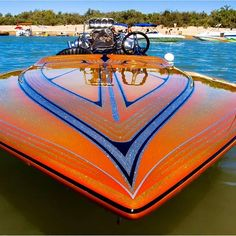 Pic by Jerry Griffin. Wooden Speed Boats, Wooden Boats, Fast Boats, Cool Boats, Drag Boat Racing, Flat Bottom Boats, Jet Boat, Ski Boats, Vintage Boats