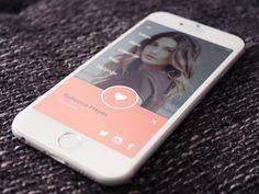 Dating App UI by David TJ Powell