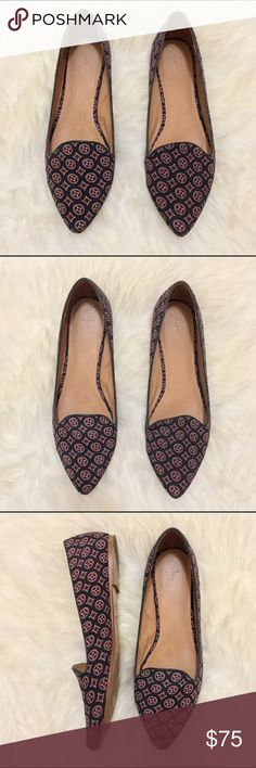 Joie Day Dreaming Smoking Flats Such a beautiful pair of smoking flats! In really great worn condition! Joie Shoes Flats & Loafers