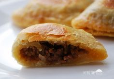 baked empanadas-not to bad for a busy day! Need to add some cheese or cream cheese