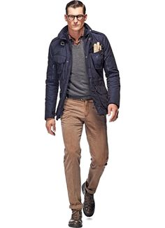 """Love this: the Navy Coat from Suitsupply. I'm rather into """"military-inspired"""" outerwear.:"""