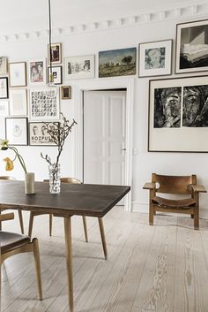 Home with personal mix in Copenhagen | ELLE Decoration