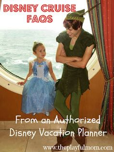 The Playful Mom: Disney Cruise FAQ's: From an Authorized Disney Vacation Planner #disneyside