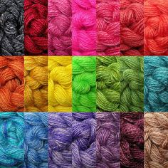 Handspun thread.  Not yarn.  Thread!  For Embroidery and Cross Stitch