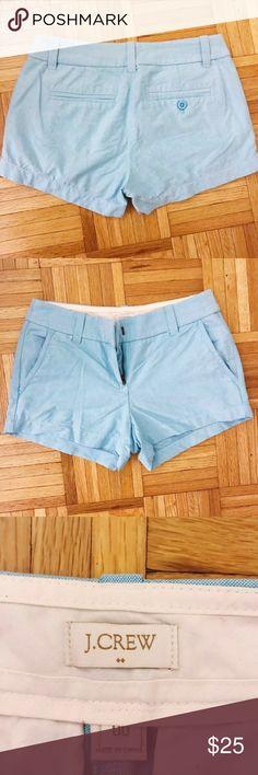 EUC sky blue J.Crew shorts. Size 00. EUC sky blue J.Crew shorts. Size 00. No flaws. make me an offer! J. Crew Shorts