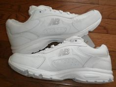 NEW! WOMENS sz 8 NEW BALANCE walking RUNNING SHOES sneakers ATHLETIC WHITE NWT!