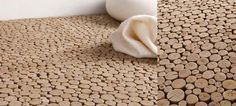 Interesting Eco-friendly Flooring Idea From Bleu Nature Terrazzo Flooring, Cork Flooring, Basement Flooring, Bedroom Flooring, Wooden Flooring, Vinyl Flooring, White Flooring, Farmhouse Flooring, Linoleum Flooring