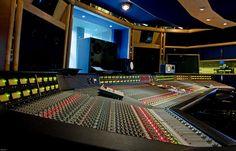 Popeline fut enregistrée en partie ici | Air recording studios - studio two featuring SSL G Series console