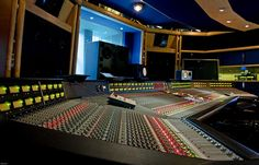 air recording studios - studio two featuring SSL G Series console