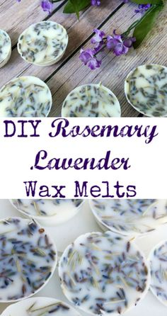 These look amazing. Love the scents of rosemary and lavender together. Perfect gift idea!