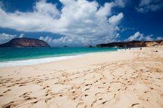 Playa de las Conchas, Lanzarote, Espanha, entre as melhores do mundo