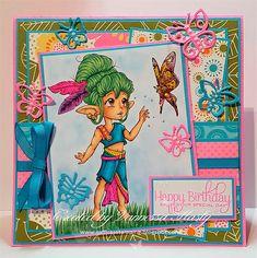 Butterfly Whisperer - Digital Stamp