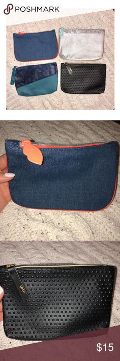 NWOT IPSY Bag Bundle Brand new, never used Ipsy Bags. No damage IPSY Bags Clutches & Wristlets