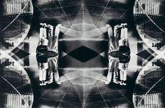 Otto Steinert - Couple diploid (negative montage), 1956/57