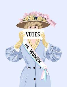 Ana Hard-Votes for women Feminist Art, Feminist Quotes, Arte Disney, Women In History, Powerful Women, Women Empowerment, Girls Be Like, Girl Power, Artsy
