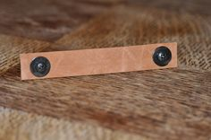 Light Brown Camel Colored Soft Leather 3/4 Inch Width and 4.5 Inch Length Drawer Pull Handle or Strap by MrsWhiteTwig on Etsy