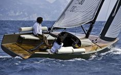 Daysailer - I didn't know what this was but looked it up. B30 by B Yachts. Of course, designed by Luca Brenta. Who else? #lucabrenta
