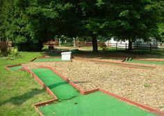 Bricotarea para el fin de semana: ¡un mini golf para el jardín!