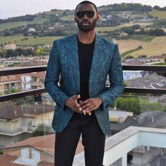 Suit designer Davidson Petit-Frère