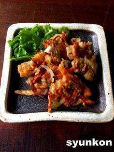 【簡単!!豚こまおかず】豚肉と玉ねぎの寄せ揚げ とか おやつとかいつもの   山本ゆりオフィシャルブログ「含み笑いのカフェごはん『syunkon』」Powered by Ameba