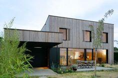 Holzfassade, Fenster, ...