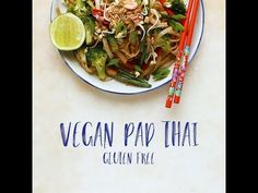 Vegan pad thai - Lazy Cat Kitchen
