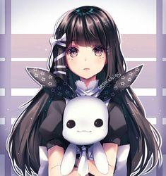 [Kawaii]The Bunny Friend [Original] Anime Oc, Anime Neko, Kawaii Anime Girl, Manga Kawaii, Cool Anime Girl, Chica Anime Manga, Kawaii Art, Anime Art Girl, Beautiful Anime Girl