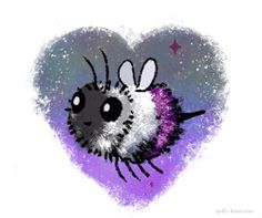 IT'S A FREAKING ASEXUAL BEE! I LOVE IT!