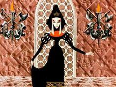 una versión rusa de La Sirenita, fiel al cuento original.