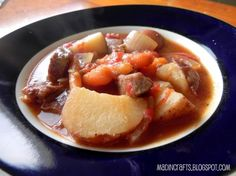 Easy Irish Stew.    This simple, stand-alone stew can be thrown together and tossed in a crockpot