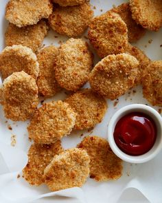 Stir clear of the freezer and fast food, these are easy chicken nuggets that taste delicious! Fast to make, perfect to freeze for later and kids love them!