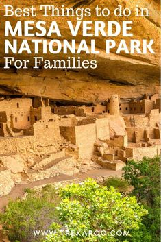 What are the best things to do in Mesa Verde National Park? We cover the best time to visit Mesa Verde, hikes, cliff dwellings, & more! Colorado National Parks, Road Trip To Colorado, Us National Parks, Parc National, Banff National Park, Family Vacation Destinations, Vacation Spots, Summer Travel, Travel Usa
