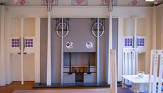 Room by Charles Rennie Mackintosh - House For An Art Lover, Glasgow