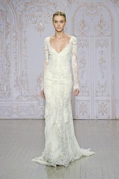40+ Lush Long Sleeve Wedding Dresses - Monique Lhuillier Autumn 2015