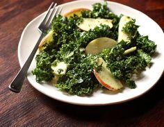 Kale and Apple Salad with Garlicky Dressing. Forget the kale. This salad is all about the dressing.
