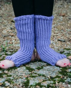 Channel your inner broadway dancer with these fun leg warmers!