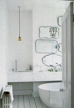 Spiegellandschaft im Bad #badezimmer #bathroom