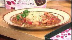 Shrimp etoufee by Chef Mike Stevenson , executive chef for the Washington Redskins Stadium