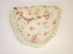 For weddings, special events or more. Etsy listing at http://www.etsy.com/listing/130040807/heart-shaped-floral-pouch