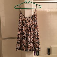 FINAL PRICE daisy, spaghetti strap sundress 9/10 condition - brandy melville jada dress style - Wet Seal Dresses