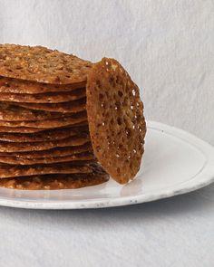 John's Pecan-Lace Cookies Recipe   Martha Stewart
