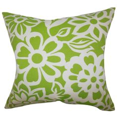 Ozara Feather and Down Filled Throw Pillow