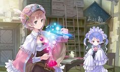 Game Artwork - Characters & Art - Atelier Rorona: The Alchemist of Arland