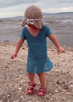 The perfect accessory to wear to the beach or pool! This pretty tunic makes an ideal cover up on a warm summer day. Pattern includes sizes 2T to Ladies XL.