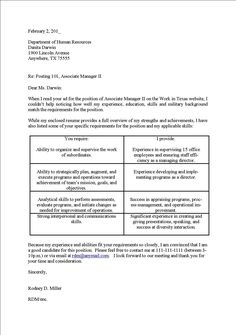 Format For A Cover Letter Cover Letter Template Veterinary Technician  Cover Letter Template .