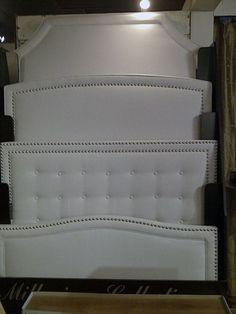 Upholstered headboard shapes - I definitely want to make one. These are a great project to DIY! - Second from the bottom but I think I'm going to round the corners. Furniture Projects, Home Projects, Diy Furniture, Furniture Design, Home Bedroom, Bedroom Decor, Master Bedroom, Headboards For Beds, Upholstered Headboards