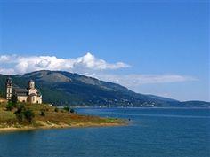 Lake Mavrovo, Macedonia