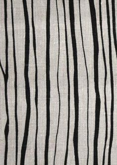 Sapling print from Borderline Fabrics. designed by Lucy Rose Design Fabrics. via remodelista