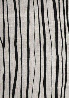 Sapling print from Borderline Fabrics. designed by Lucy Rose Design Fabrics. via remodelista
