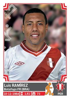 264 Luis Ramírez - Peru - Copa America - Chile 2015